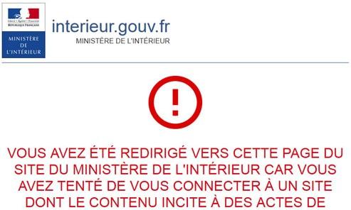 36 sites Internet bloqués par le ministère de l\'Intérieur dans l ...
