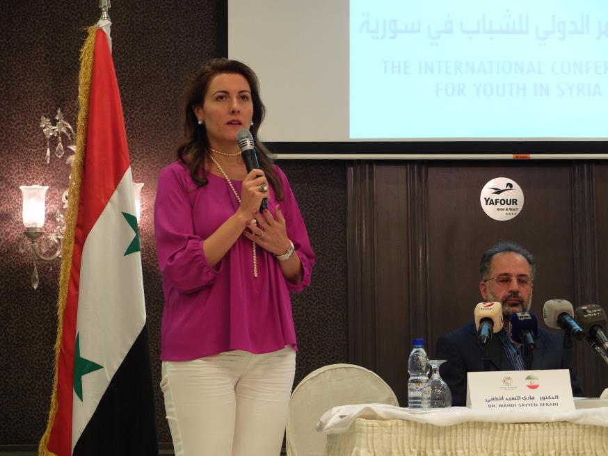 Rencontre avec syrienne