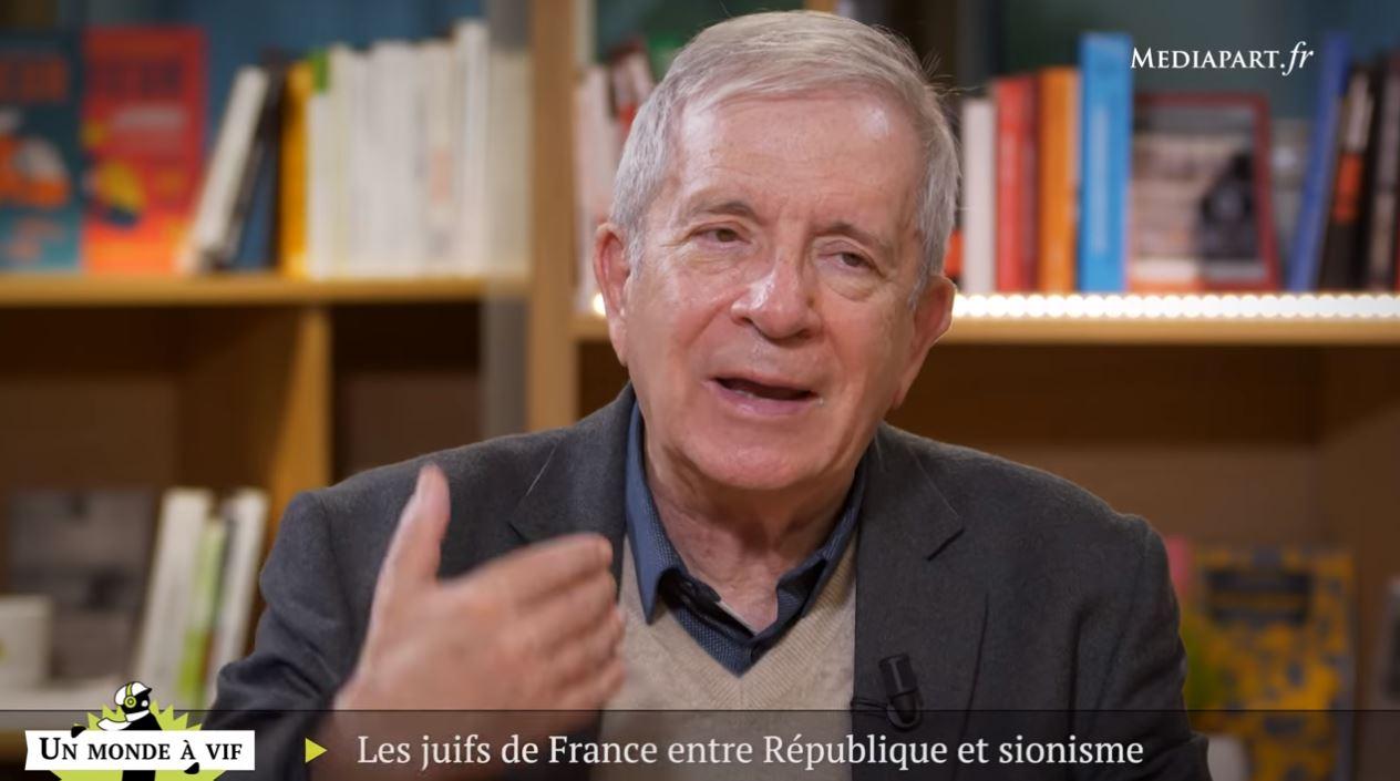Charles Enderlin chez Mediapart : les juifs, le franco-judaïsme et le franco-sionisme