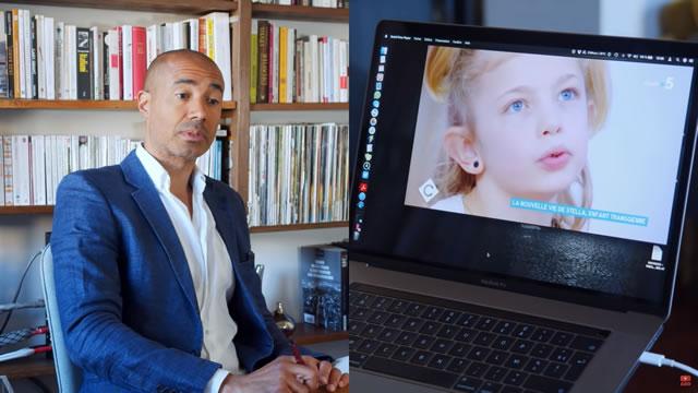Stéphane Édouard – Le cirque des enfants « a-genrés » à la TV
