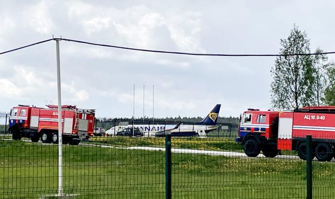 La Biélorussie force un avion transportant un opposant à atterrir à Minsk