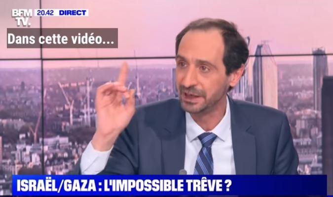 La leçon du Palestinien Mounir Anastas aux journalistes de BFM TV Truchot & Gosset