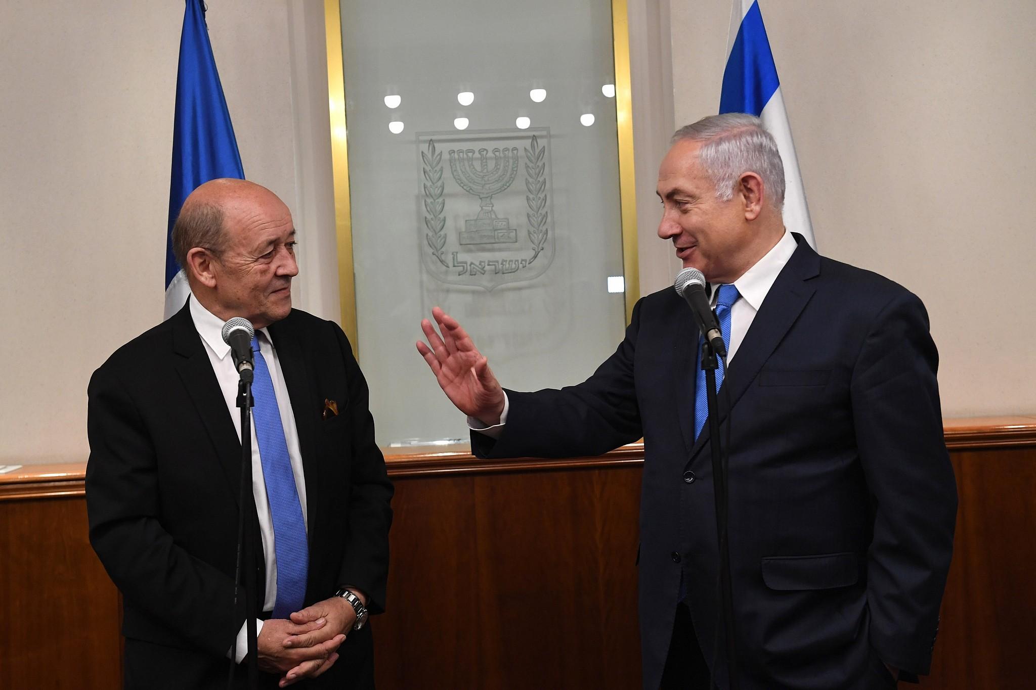 Jean-Yves Le Drian provoque la fureur des Israéliens avec son « risque d'apartheid »