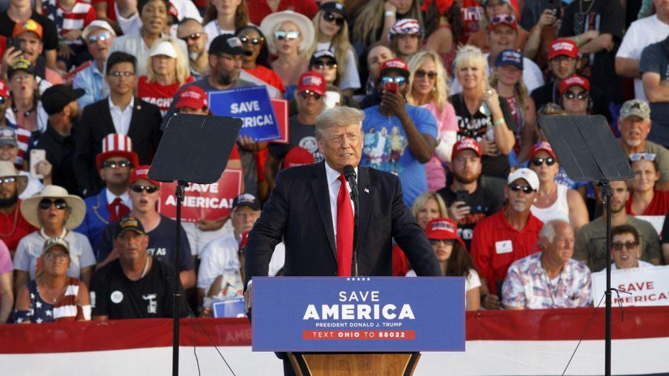 Trump : « Biden est en train de détruire notre nation, en 2024 on n'aura même plus de pays »