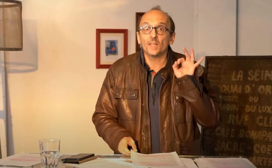 Me Di Vizio censuré en plein direct par YouTube alors qu'il évoquait le procès de Nuremberg