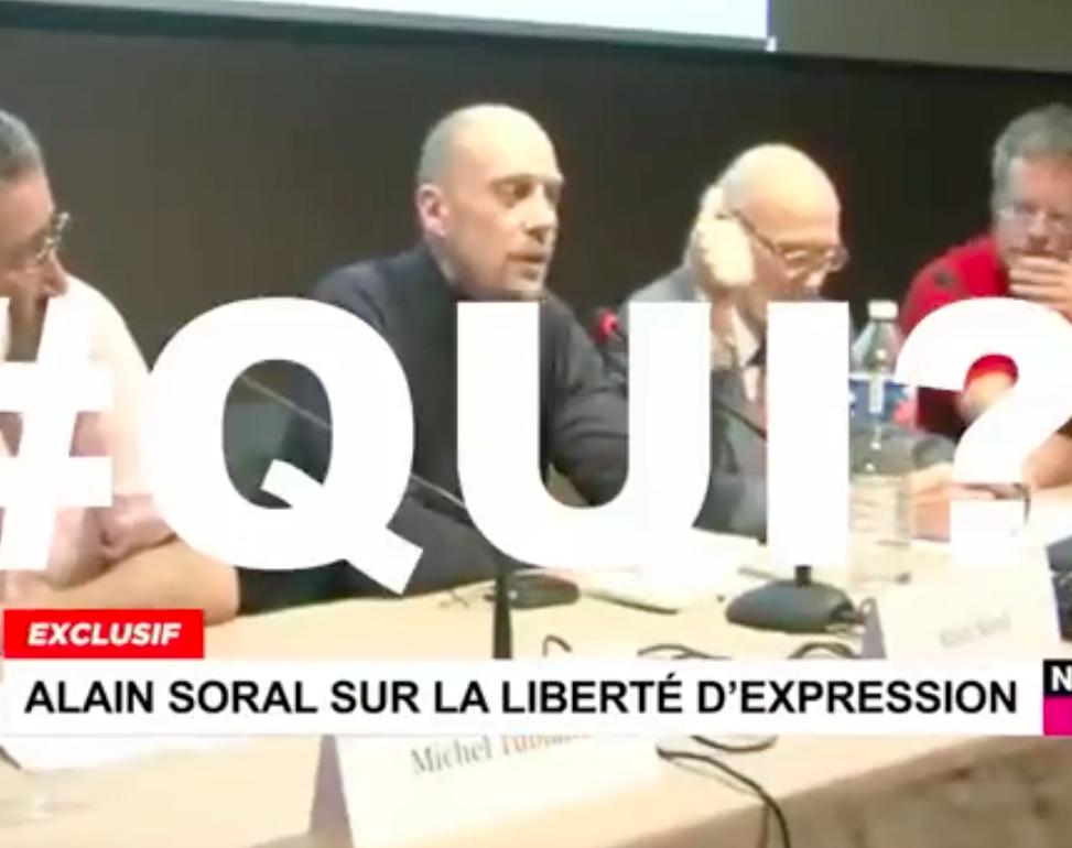 Alain Soral en 2009 : « Tant qu'on a pas dit Qui ?, on a rien dit »