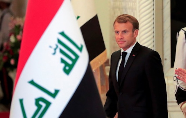 Emmanuel Macron déclare que la France restera en Irak avec ou sans les Américains