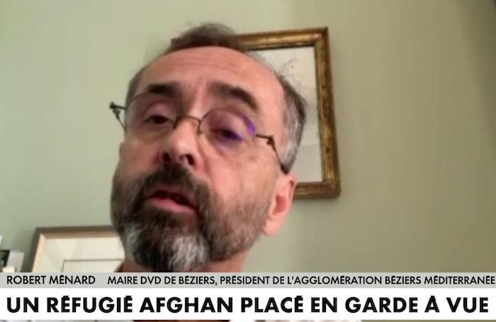 Robert Ménard se dit « mille fois pour l'accueil des réfugiés politiques » afghans