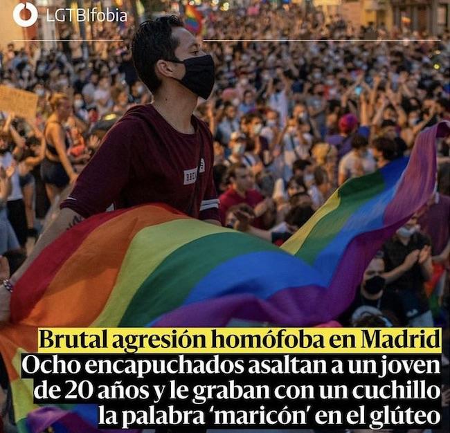 Espagne : la soi-disant victime d'une agression homophobe à Madrid se rétracte