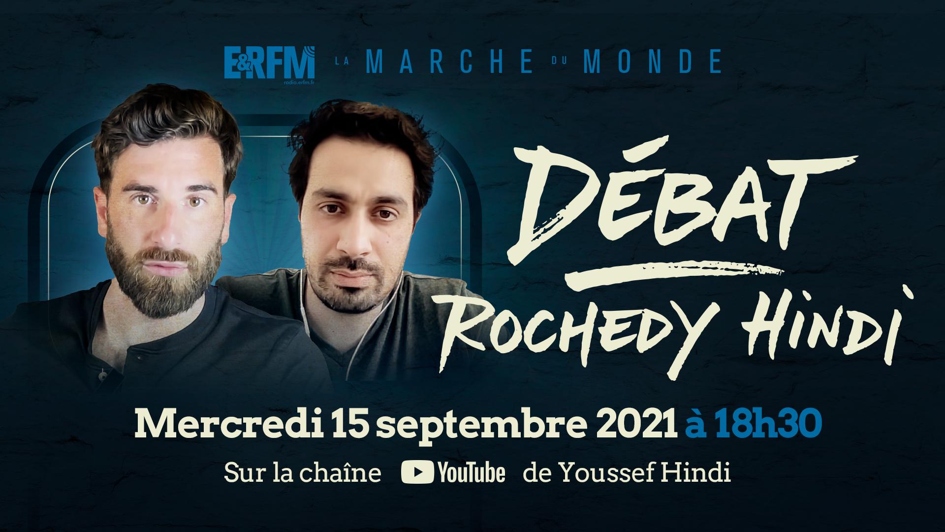 Youssef Hindi et Julien Rochedy débattront mercredi sur ERFM