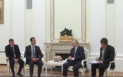 Poutine remet en cause les présences israélienne et turque en Syrie