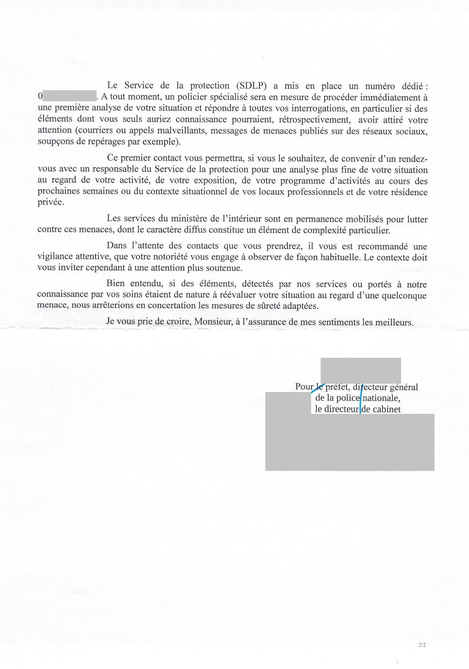 Le ministère de l\'Intérieur informe Alain Soral qu\'il est menacé par ...