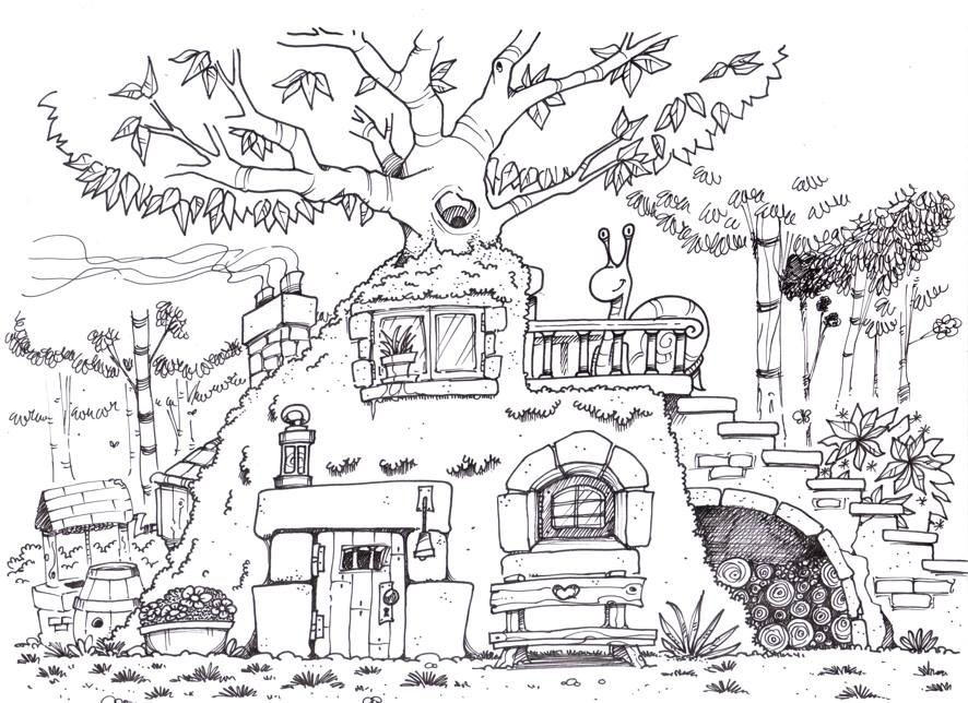 Les dessins de la semaine egalite et r conciliation for A quoi ressemble ta maison