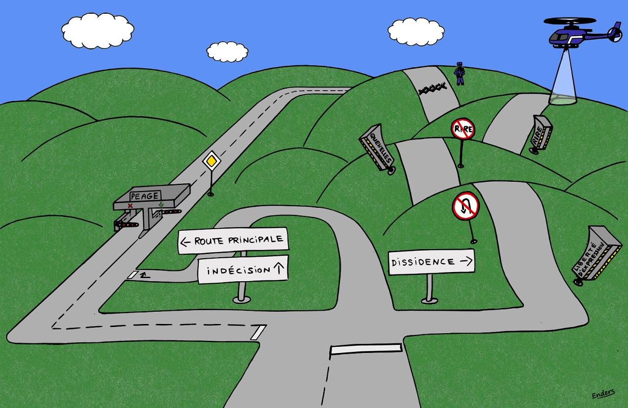 Les dessins de la semaine egalite et r conciliation - Dessin de route ...