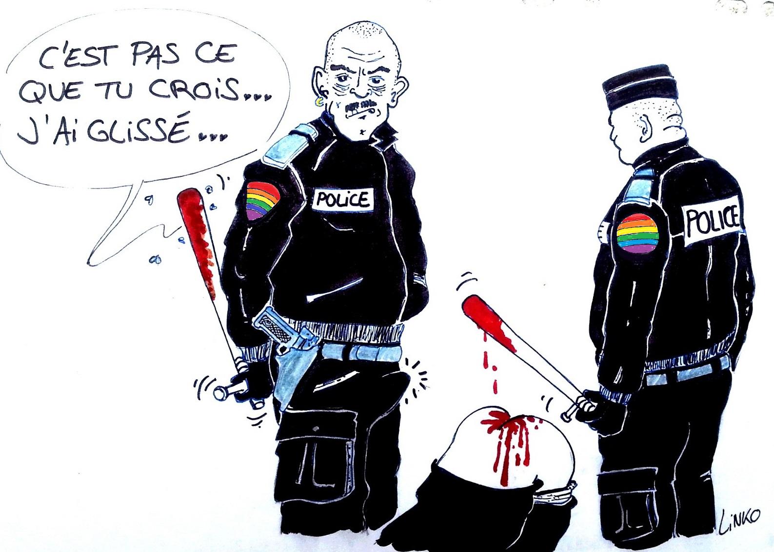 Les dessins de la semaine egalite et r conciliation - Dessin de police ...
