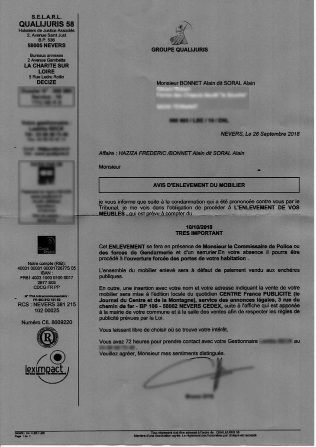Persecutions Frederic Haziza Fait Saisir Le Mobilier D Alain Soral