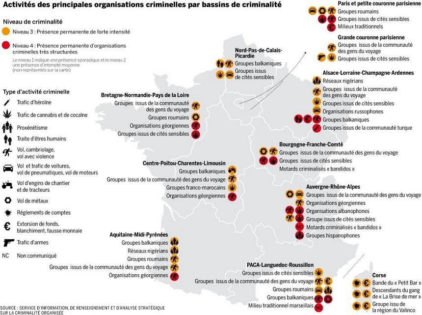 Ville Les Plus Criminelles De France
