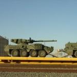 Augmentation troublante de convois ferroviaires militaires aux États Unis
