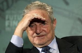 G. Soros, financier milliardaire américain