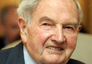 """D. Rockefeller, """"conspirateur"""" pour construire """"un seul monde"""" et fier !"""