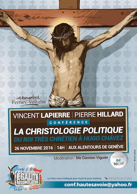 ffdfb2159ac7 À ne pas manquer, la suite de ce cycle de conférences sur le thème des  rapports entre religion et politique, avec Vincent Lapierre et Pierre  Hillard