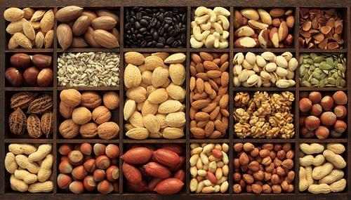 Les noix pour la puissance des hommes