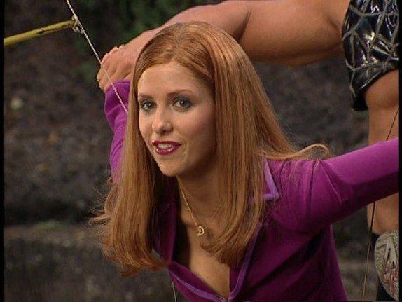 Buffy contre le corps porno