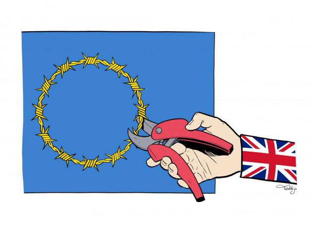 Alain de Benoist : Brexit : vers un effet domino en Europe ? dans culture Teddijo_dessin_brexit_europe_ue-b30e5-f88a4
