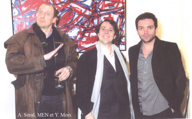 Yann Moix Paul Eric Blanrue