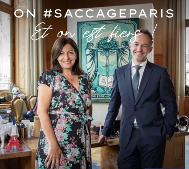 """Paris saccagé : Anne Hidalgo accuse """"l'extrême droite"""""""
