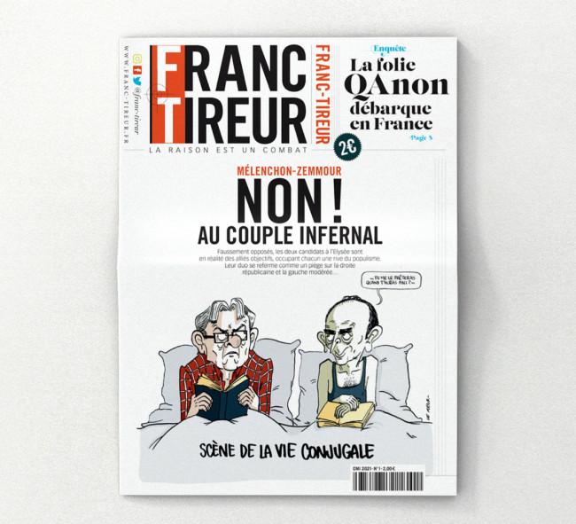 Franc-Tireur, le nouveau journal du ministère de la Vérité